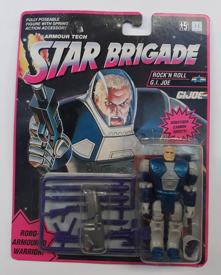 GI JOE STAR BRIGADE ROCK 'N ROLL 1993